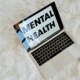 The Words Mental Health on Laptop Screen (2)