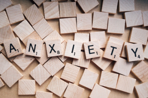 Canva – Word Anxiety Written on Wooden Scrabble Letters
